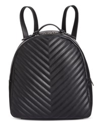 Steve Madden Josie Quilted Small Backpack Black