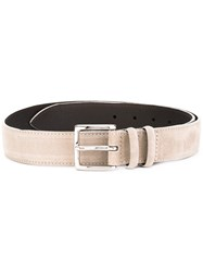 Orciani Buckled Belt Men Leather 105 Nude Neutrals