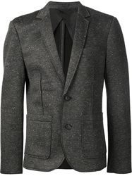 Atm Two Button Blazer Grey