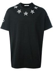 Givenchy Columbian Fit Star Print T Shirt Black