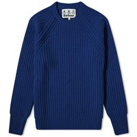 Barbour Tynedale Crew Knit White Label Blue