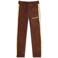 Palm Angels Tie Dye Tape Chenille Track Pant Brown