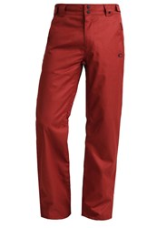 Oakley Sun King Waterproof Trousers Red Dark Red