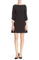 Kate Spade Women's New York Ruffle Sleeve Shift Dress