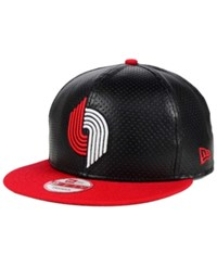 New Era Portland Trail Blazers Perfect 9Fifty Snapback Cap Black
