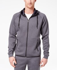 32 Degrees Men's Performance Hooded Sweatshirt Heather Charcoal