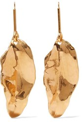 Marni Gold Plated Earrings One Size