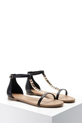 Forever 21 Faux Leather Studded Sandals