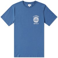 Gant Literary Rebels Tee Blue