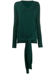 Jejia Knot Detail Jumper Green