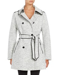 Guess Novelty Double Breasted Trench Coat