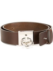 Dsquared2 Piercing Detail Belt Brown