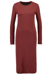 Storm And Marie Kikki Jumper Dress Total Eclipse Red Clay Red Metallic