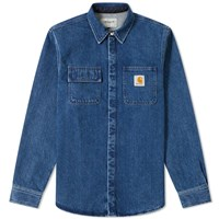 Carhartt Salinac Shirt Jacket Blue