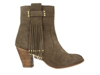 Gioseppo Shelby Ankle Boots Khaki