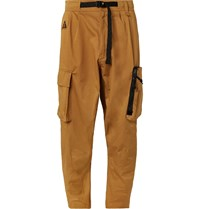 Nike Acg Tapered Cotton Blend Twill Cargo Trousers Neutrals