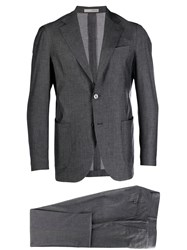 0909 Two Piece Suit Grey