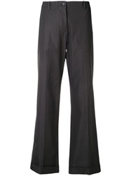 Aspesi Straight Leg Trousers Grey