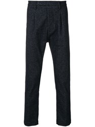 Al Duca D'aosta 1902 Droped Crotch Trousers Blue