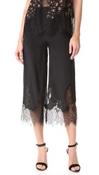 Mcq By Alexander Mcqueen Fluid Cropped Pants Black