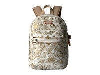 Sakroots Artist Circle Mini Backpack Gold Songbird Backpack Bags Beige