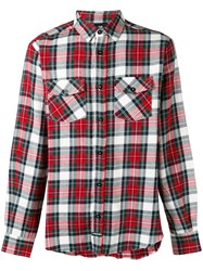 Les Artists Art Ists Checked Shirt Men Cotton S