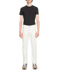 Berluti Cotton Chino Pants White