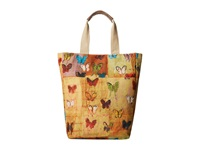 Echo Butteryfly Fields Tote Multi Tote Handbags