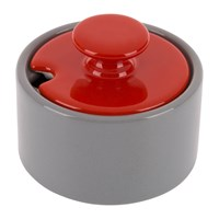 Jansen And Co My Sugar Bowl Grey Red