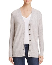 Bloomingdale's C By Grandfather Cashmere Cardigan Cement