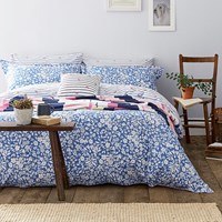 Joules Orchard Ditsy Duvet Cover Blue Yonder