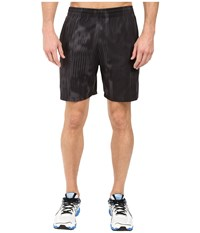 Asics Printed 7In Shorts Black Fusion Print Men's Shorts