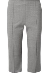 Maggie Marilyn One Step Ahead Cropped Woven Straight Leg Pants Gray