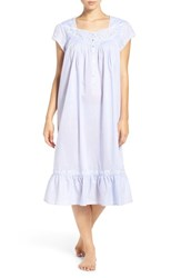 Eileen West Women's Embroidered Cotton Nightgown