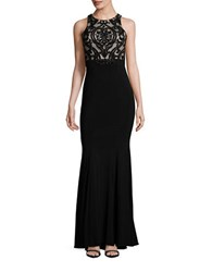 Xscape Evenings Damask Mermaid Gown