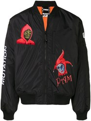 P.A.M. Perks And Mini Pam Mutagenisis Bomber Jacket Black