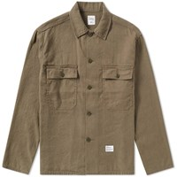 Bedwin And The Heartbreakers Cliff Military Overshirt Green
