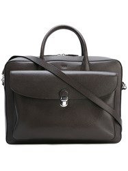 Tod's Classic Briefcase Brown