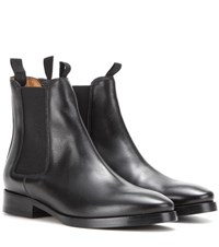 Acne Studios Bess Leather Chelsea Boots Black