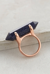 Lola Rose Obelus Ring Dark Blue