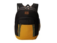 Quiksilver Schoolie Modern Original Backpack Golden Spice Backpack Bags Yellow