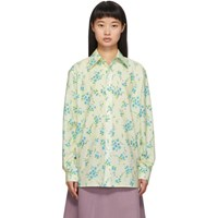 Marc Jacobs Off White Floral Shirt