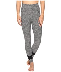 Beyond Yoga X Big Thing Leggings Black White Spacedye Women's Casual Pants Gray