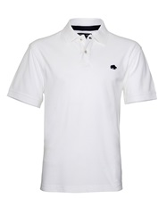Raging Bull Big And Tall New Signature Polo Shirt White