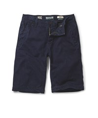 Fat Face Men's Cove Flat Front Short Blue