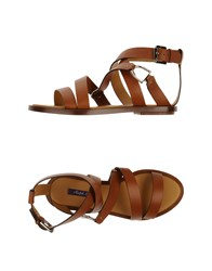 Ralph Lauren Collection Footwear Sandals Women Camel