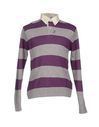 Tortuga Knitwear Jumpers Men Purple