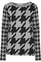 Stella Mccartney Houndstooth Printed Jersey Top