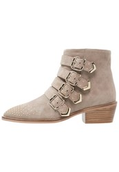 Gardenia Anella Ankle Boots Taupe