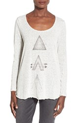 Junior Women's Project Social T 'Arrow' Graphic Long Sleeve Tee